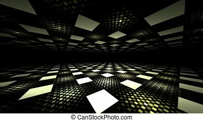 Seamless perspective background - 3D seamless illusion...