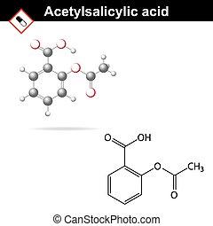 Acetylsalicylic acid formula - Acetylsalicylic acid -...