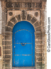 Ancient doors, Essaouira, Morocco