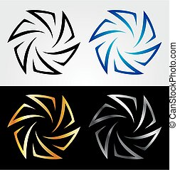 Aperture in different colors