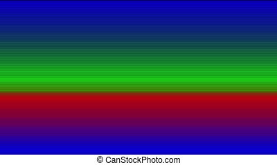 color monitor screen