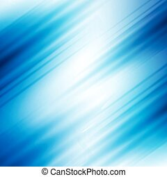 vector blurred abstract background with stripes, blue color