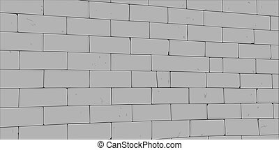 Egypt wall - Wall of big gray blocks