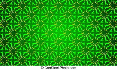 green abstract background, floral