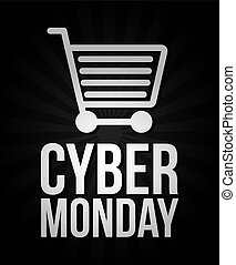 cyber monday deals design, vector illustration eps10 graphic...