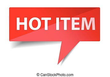 Bubble Talk - Hot Item
