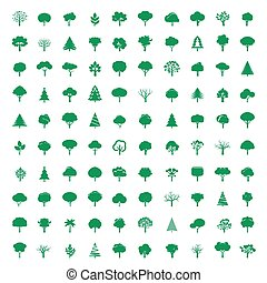 Cet of GREEN Trees