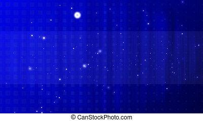 blue background spots 4k
