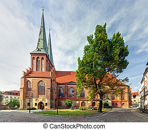 Berlin, St Nicholas church, Germany - Nikolaikirche