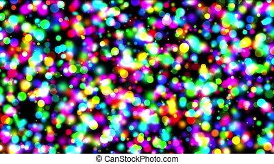 spots light night 4k