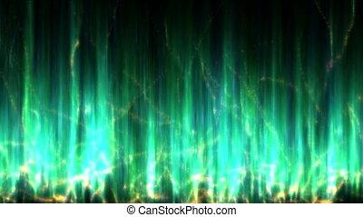 aurora background abstract 4k