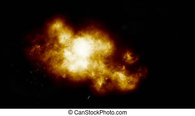 explosion fire effect 4k