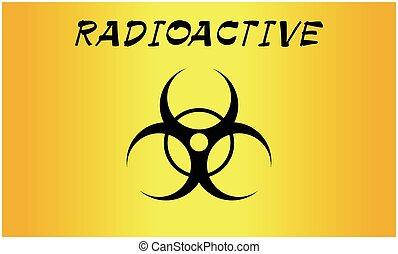 bio hazard sign - Vector Illustration bio hazard sign,...