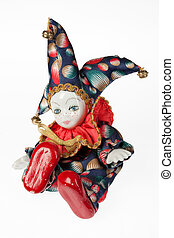 Jester Toy - Isolated jester