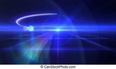 dance ray light floor 4k