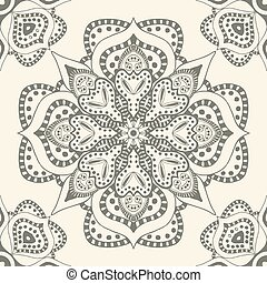 ornamental pattern - Vintage background made of ornamental...