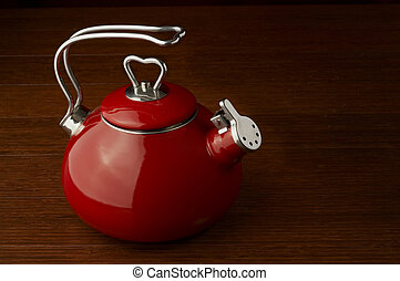 Stock Photo of a kettle