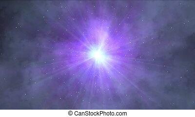 space nebula stars 4k