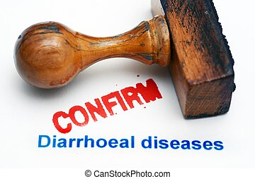 Diarrhea disease confirm