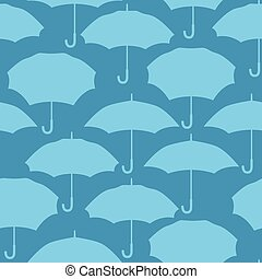 Seamless pattern with umbrellas for background design