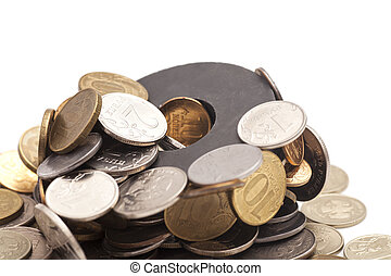 Magnetic coins