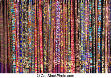 background cloth colorful