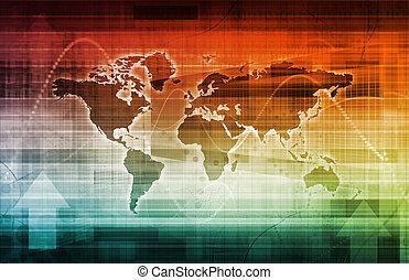 Welt, Geschaeftswelt