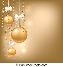 Xmas background - New year and christmas background with...