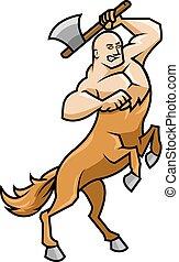 Centaur - vector illustration of centaur.