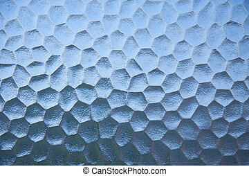 Blue abstract glass texture flesh background. - Blue...