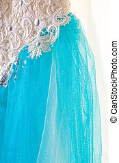 ball gown. Photo taken in the studio