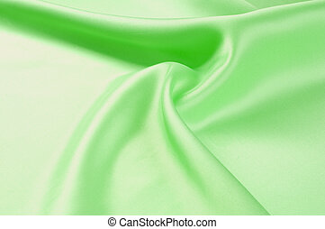 Green textiles Photo taken in the studio