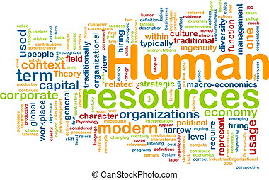Human resources background concept - Background concept...