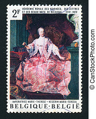 postmark - BELGIUM - CIRCA 1972: 200th anniversary of the...