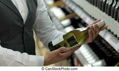 Presenting the best wine Cropped image of cheerful young...