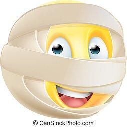 Mummy Emoji Emoticon