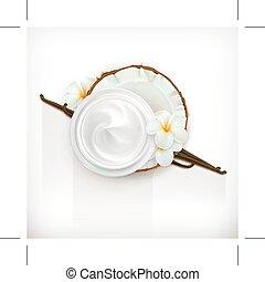 Vanilla care cream - Health and care cream vanilla coconut,...