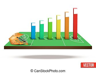 Concept of statistics about the game lacrosse - Background...