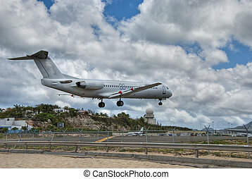 Saint Maarten Airport, Dutch Antilles - Airport in Saint...