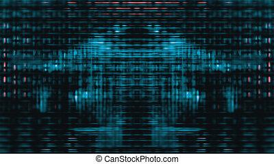 Futuristic Screen Display Pixels - Futuristic, video screen...