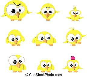 cute birds collection