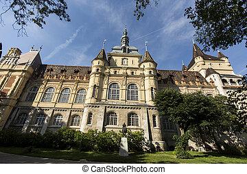 Vajdahunyad Castle, Budapest - Vajdahunyad Castle in...