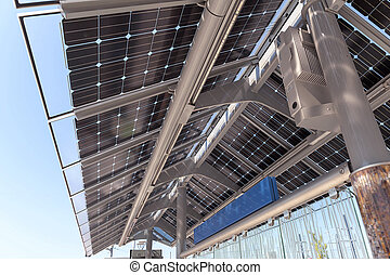 Solar Powered Train Station - Solar Powered Public...