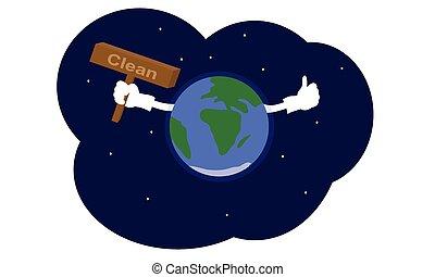 Earth clean