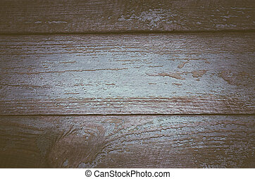 Texture of old boards - Old boards with shabby paint...