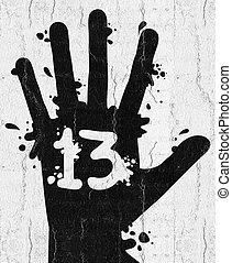 Hand 13 - Creative design of Hand 13