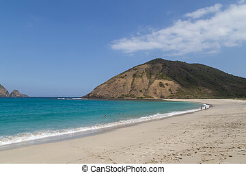 Lombok Beach - Beautiful beach in the South of the...