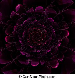 Fractal abstract background - This is beautiful flower...