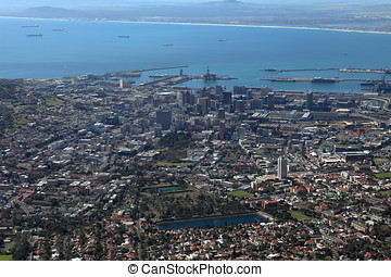 The City of Capetown in South Africa