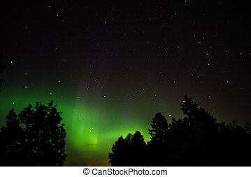 Aurora Borealis - An aurora is a natural light display in...